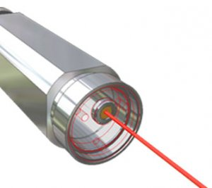 Ultrakompakte Laserröhre